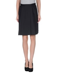 Brian Dales Knee Length Skirts Black