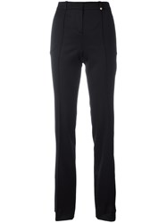 Versace Flared Trousers Black