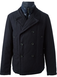 Add Peacoat With Detachable Padded Lining Blue