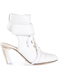 Viktor And Rolf Lace Up Booties