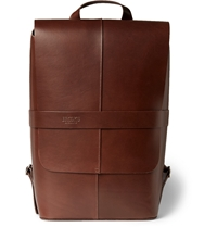 Brooks England Piccadilly Leather Backpack Brown