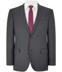 Austin Reed Grey Stripe Contemporary Fit Jacket