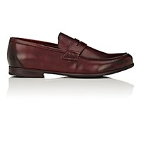 Harry's Of London Harrys Men's James Penny Loafers Burgundy