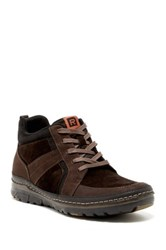 Rockport Activeflex Rocksport Leather Boot Wide Width Available Brown