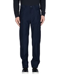 Faconnable Trousers Casual Trousers Men Dark Blue