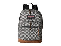 Jansport Right Pack Expressions Black White Fish Scale Jacquard Backpack Bags Gray