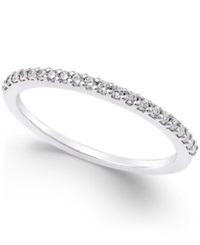 Macy's Thin Diamond Band 1 8 Ct. T.W. In Platinum