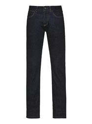 Ermenegildo Zegna Blue Japanese Luxury Denim Jeans