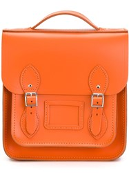 The Cambridge Satchel Company 'The Small Portrait' Backpack Yellow And Orange