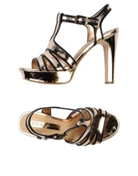 Luca Stefani Sandals Copper