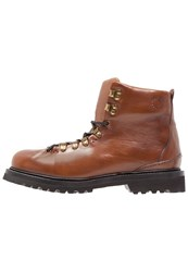Buttero Canalone Laceup Boots Cognac