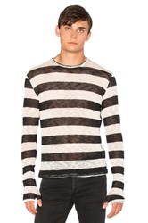Homme Boy Long Sleeve With Gloves Black And White