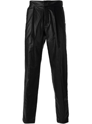 Msgm Faux Leather Trousers