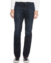 Kenneth Cole Reaction Indigo Wash Straight Fit Jeans