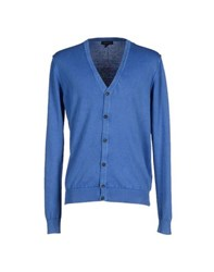 One And Way Knitwear Cardigans Men Pastel Blue