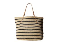 Hat Attack Twisted Stripe Tote Navy Stripe Tote Handbags