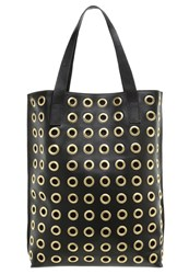 By Malene Birger Irinki Tote Bag Black Gold