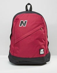 New Balance 574 Backpack In Red Red