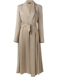 The Row 'Rotine' Coat Nude And Neutrals