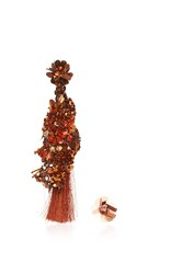 Johanna Ortiz Fantasy Earrings In Rust Bronze