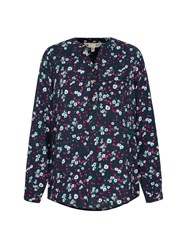 Yumi Floral Print Blouse Multi Bright