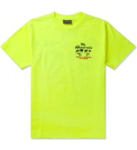 The Hundreds Safety Green Double Palm T Shirt