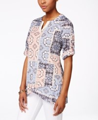 Styleandco. Style And Co. Printed Tulip Hem Tunic Only At Macy's