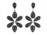 Karen Kane Tidal Wave Statement Earrings Blue Earring