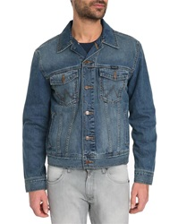 Wrangler Blue Rinsed Denim Jacket