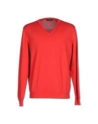 Andrea Morando Knitwear Jumpers Men Red
