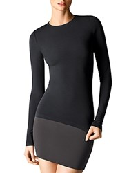 Wolford Crewneck Long Sleeve Pullover Black