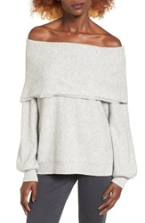 Leith Women's Off The Shoulder Sweater