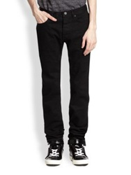 Marc By Marc Jacobs Black Straight Leg Jeans