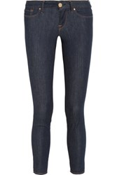 M Missoni Cropped Mid Rise Skinny Jeans