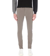 Paul Smith Ps By Slim Fit Stretch Cotton Chinos Elephant