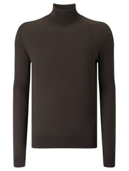J. Lindeberg Sagon Silk Wool Turtleneck Jumper Black