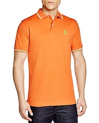 Psycho Bunny Neon Bunny Polo Regular Fit Paprika Green