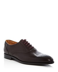 Paul Smith Gilbert Brogue Oxfords Dark Brown