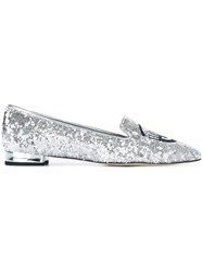 Chiara Ferragni 'Flirting' Sequin Pumps Metallic