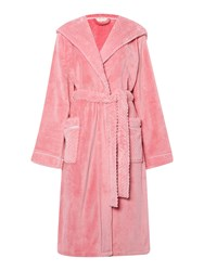 Linea Cosy Soft Robe With Hood Light Pink