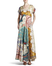 Johnny Was Long Patchwork Dress