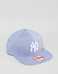 New Era 9Fifty Snapback Cap Ny Yankees Oxford Blue