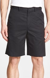 Men's John W. Nordstrom Supima Cotton Flat Front Trouser Shorts