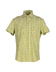 Kejo Shirts Shirts Men Light Green
