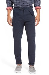 Men's Grayers 'James' Slim Fit Cargo Pants Nordic Navy