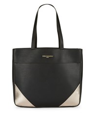 Karl Lagerfeld Fara From Paris With Love Tote Black Gold
