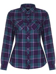 Craghoppers Braworth Shirt Purple