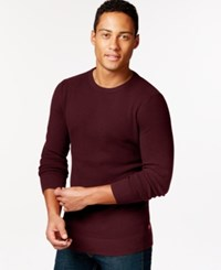 Levi's Pommer Sweater Wine Red