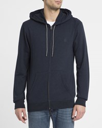 Element Blue Cornell Zipped Hooded Sweatshirt