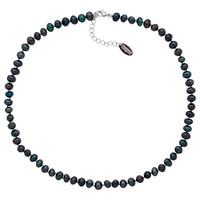 Finesse Freshwater Pearl Necklace Blue